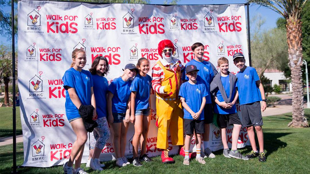 Ronald McDonald House—Walk for Kids