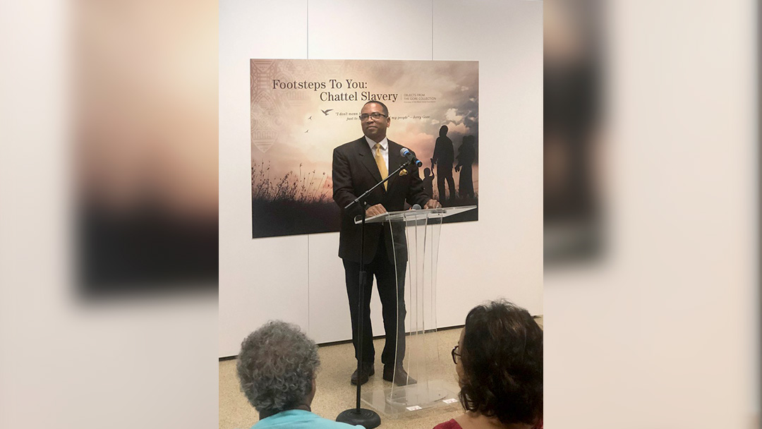 """Footsteps to You: Chattel Slavery"" Exhibit Receives NACo Award"