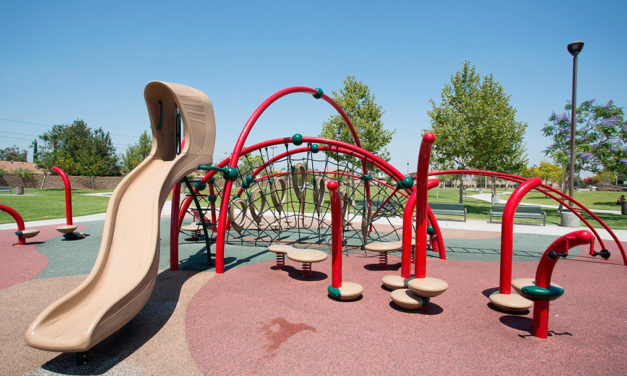 Upgraded Playgrounds Just in Time for Summer Fun