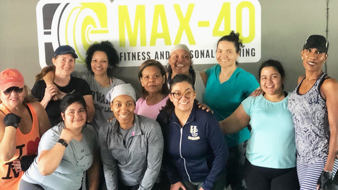 Minority Owned MAX-40 Fitness & Personal Training to Sponsor Top Division Competition
