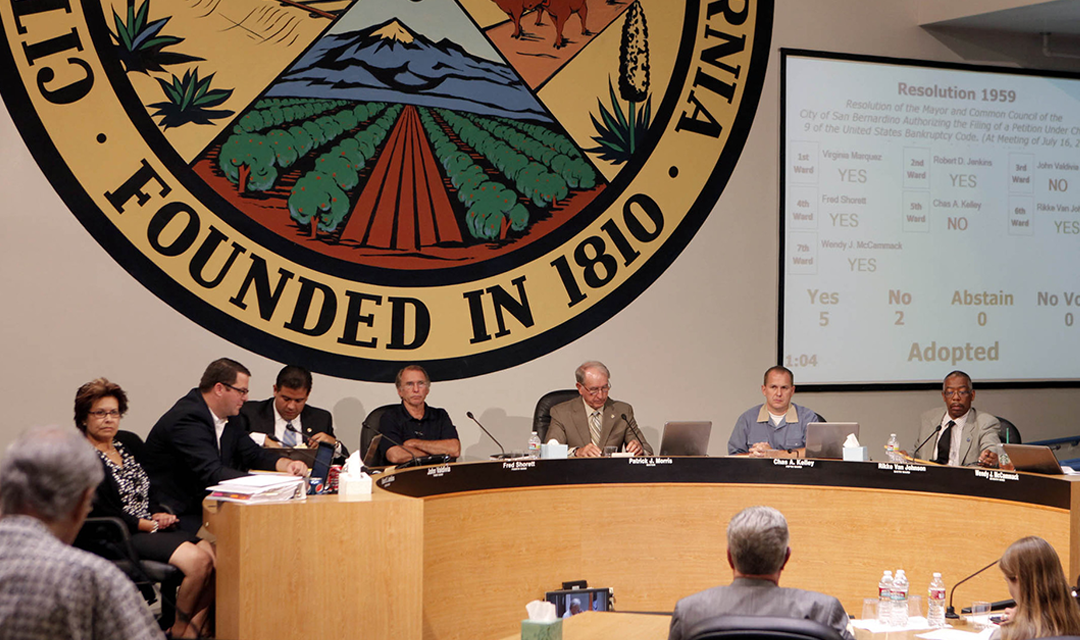 Failure to Report—City of San Bernardino Out of Compliance with Transparency Requirements