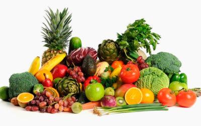 Summer's Fresh Fruit and Vegetable Bounty