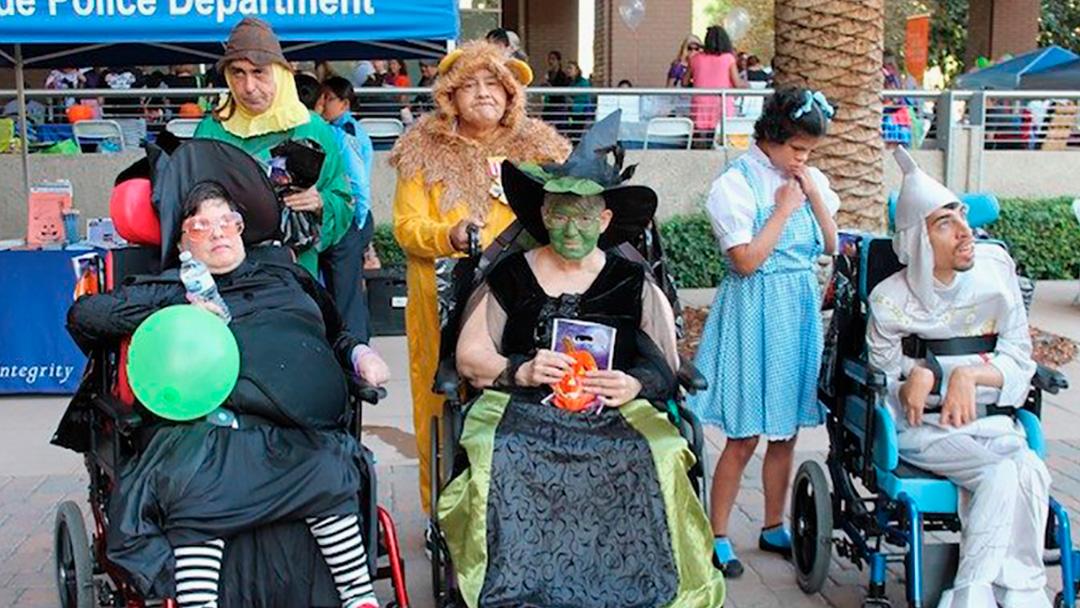 Area Residents Enjoy a Halloween-themed Street Fair