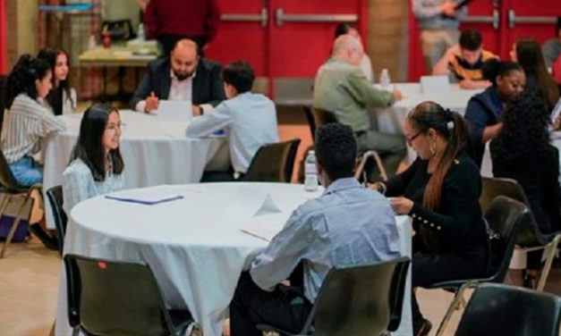 High School Students, Businesses and the City Partner for Success