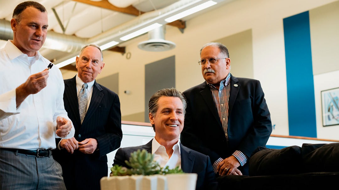 Governor Gavin Newsom Visits Riverside and Highlights Efforts to Cure Homelessness