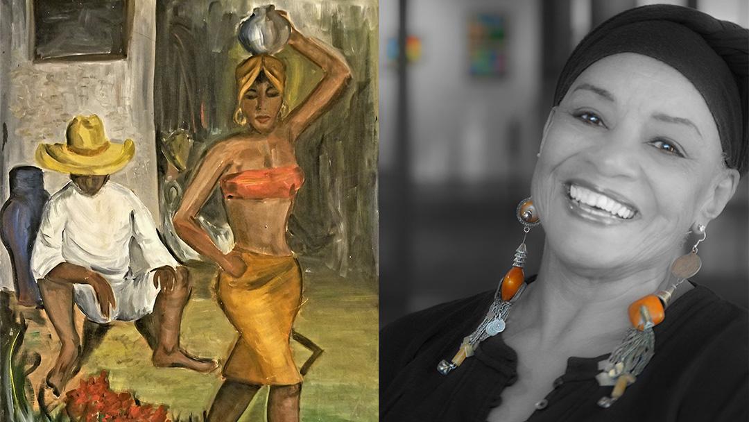 """""""Mother Wit"""" by Riverside Artist Sandra Rowe"""