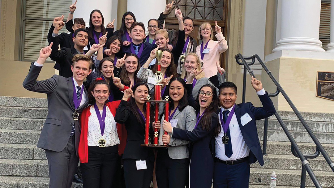 Poly High Students Claim Mock Trial Title 2nd Year in a Row