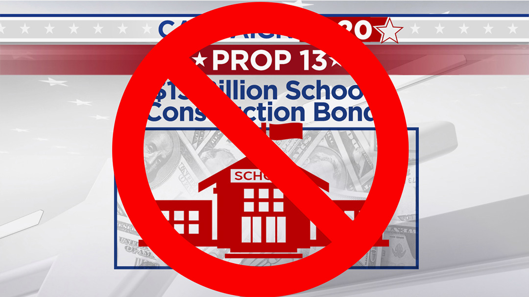 Voters Reject Modification of Proposition 13