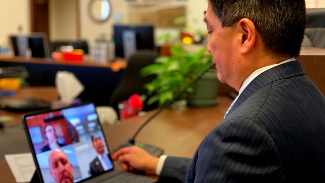 San Bernardino County Announces Courtroom Video Appearances