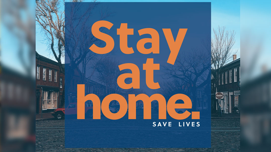 """""""Stay Home, Stay Safe"""" Billboard Campaign"""