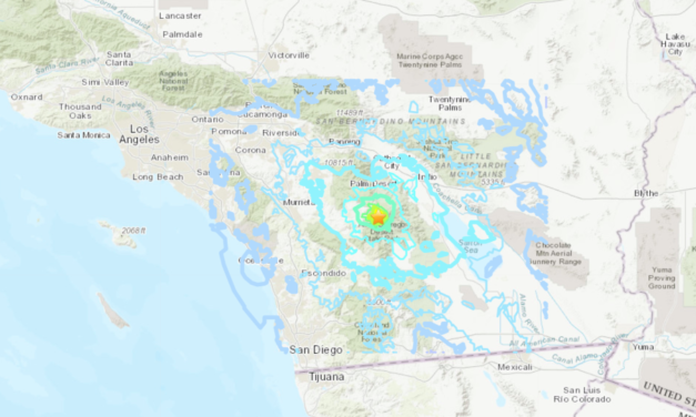 Series of Earthquakes Rock Riverside County