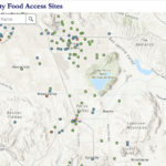 Map to Food Resources in Riverside County