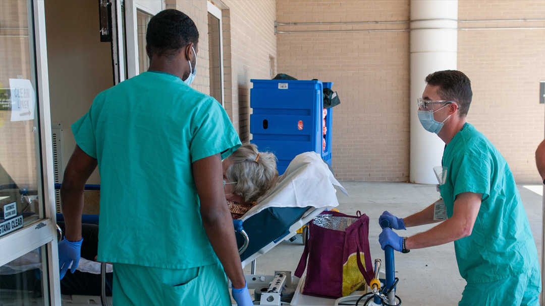 Riverside County Watch-listed as COVID-19 Hospitalizations Spike