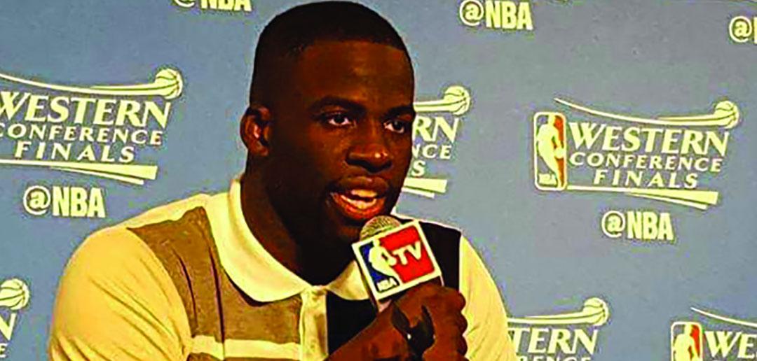 Golden State Warriors' Draymond Green Takes Defense Skills to New Arena: Politics