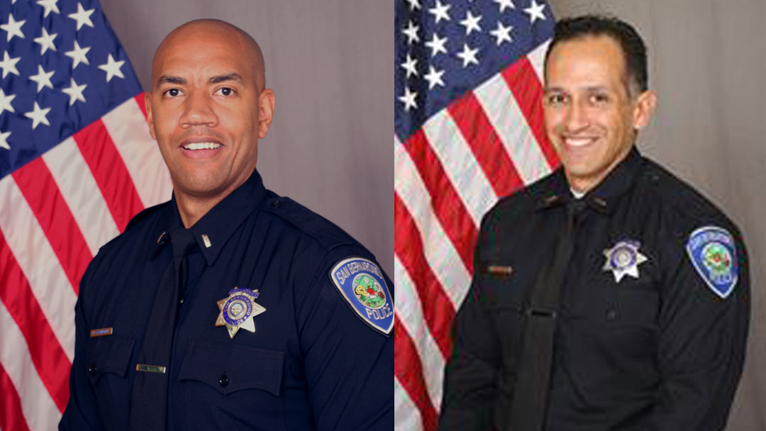 SBPD Announces Newly Promoted Lieutenant and Captain