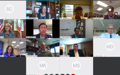 SBSC holds Virtual Town Hall Meeting Addressing Civil Unrest and Racial Inequality