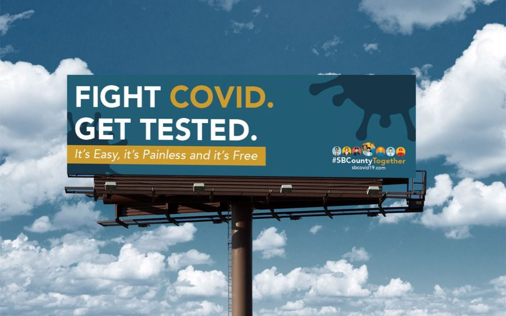Fight COVID-19 Billboard Campaign