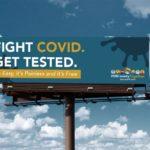 Fight COVID-19 Billboard Campaign