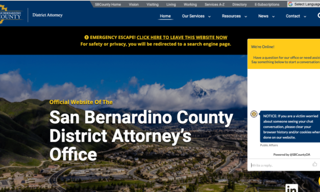 San Bernardino COunty District Attorney's Office Improving Customer Service
