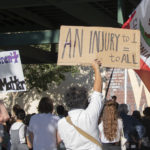 Protesters gather in Redlands to End Stop and Frisk
