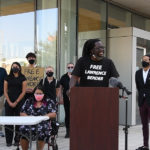 Black Lives Matter IE Holds Press Conference to Address Arrest of 11 Protesters