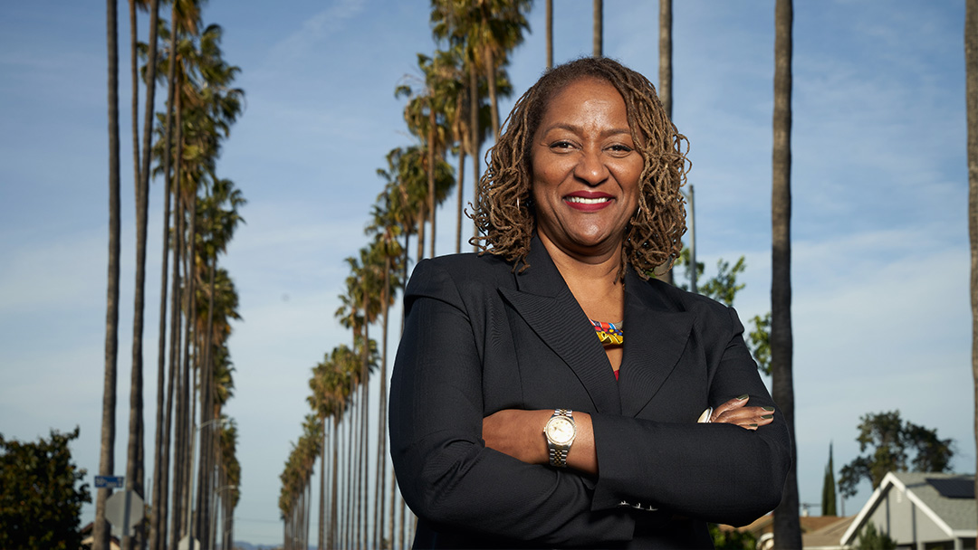 Holly Mitchell Sworn in to Serve on All-Women LA County Supervisors Board