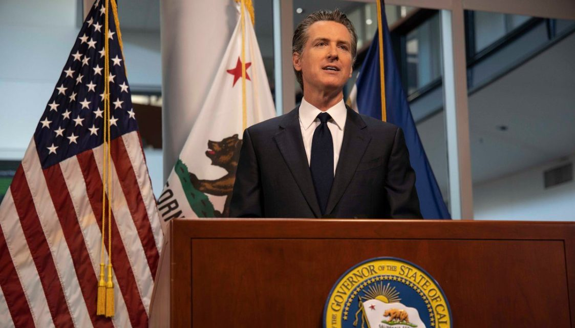 Governor Newsom: Most of State Nears Stay-Home Order