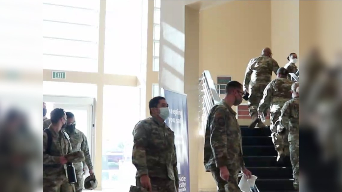 Inland Area Hospitals Receive Military Support, Resources Arrive in Riverside