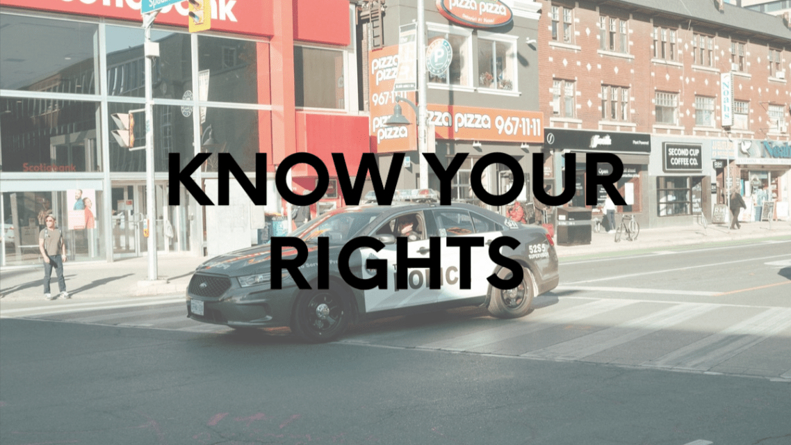 Know Your Rights: When Stopped by Police