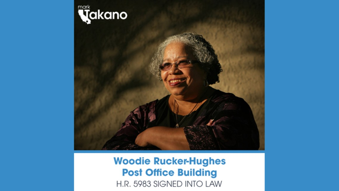 "Honoring an Icon, Waudieur ""Woodie"" Rucker-Hughes"