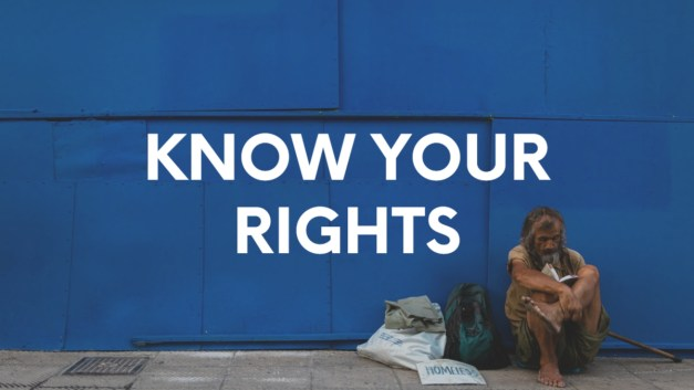 Know Your Rights: Homeless Students