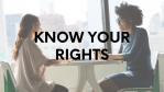 Know Your Rights: Race, Ethnicity, or National Origin-Based Discrimination