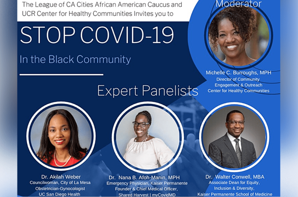 Stop COVID-19 in the Black Community