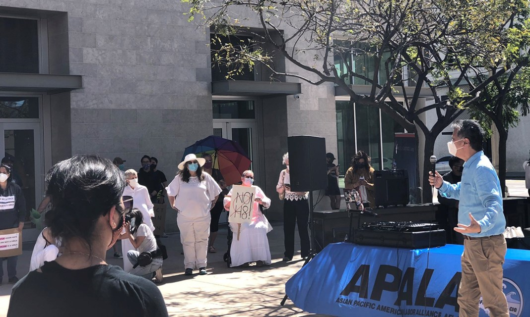 Riverside Community United Against Recent Surge in AAPI Hate Crimes